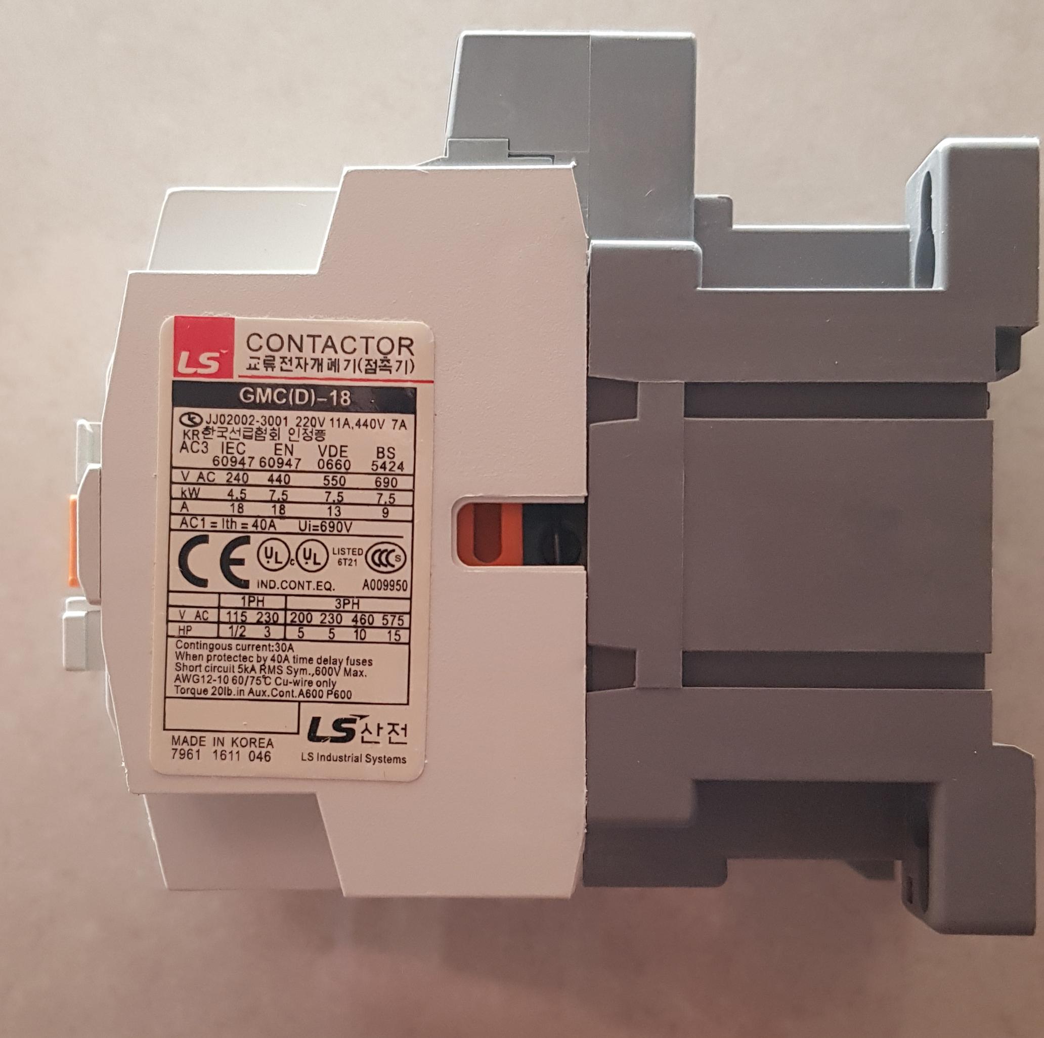 [Loại 1] Khởi Động Từ LS GMC 18A Chất Lượng