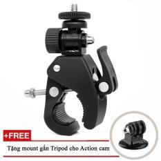Phụ kiện kẹp ghi đông xe cho máy quay hành động GoPro, Sjcam, Yi Action, Osmo Action
