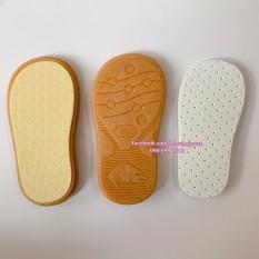 Đế giày nhựa cho bé (có sẵn lót, không đục sẵn lỗ)