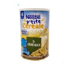 Bột lắc sữa Nestle 6m vị ngũ cốc 400g – Pháp date T6.2022