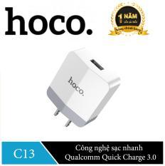 Cốc sạc nhanh Hoco C13 QC 3.0 – Hãng phân phối chính thức