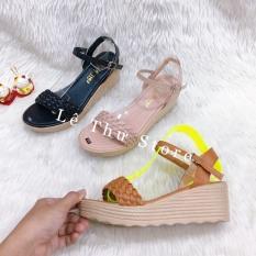 Giày cao gót 5 phân đế xuồng tết bính (đế nhẹ, thời trang) LT