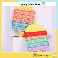 Pop It Fidget toys Đồ Chơi Bóp Tay Xả Stress Nhiều Màu Sắc -Bunnybabystore
