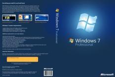 DVD Windows 7 ultimate 64bit tự Active + Sách Hướng Dẫn Cài Đặt và Cài Driver