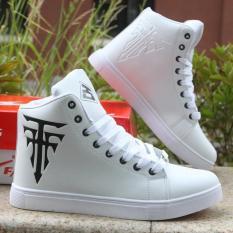 Giày nam cao cổ thời trang giaynam-GY12 trắng