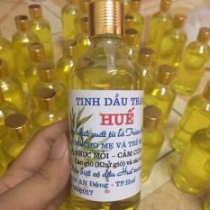 Tinh dầu tràm Huế chai tròn 100ml nguyên chất niềm tin của mọi nhà