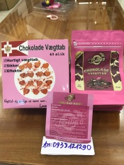Kẹo Socola Giảm Cân Đan Mạch 40 viên chính hãng cty 100%( MẪU MỚI FULL HỒNG Date 2022) màu hồng
