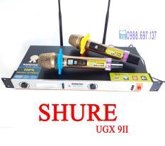[MiễnPhíVậnChuyển] micro không dây cao cấp SHURE UGX 9 II – micro karaoke