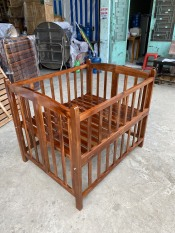 Nôi Giường Em Bé gỗ sồi giá sỉ tại xưởng sản xuất nội thất tân ngọc châu 0937 272 899