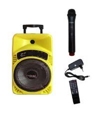 Loa kéo Bluetooth Caliana TX08B (Vàng) , bass 2 tấc