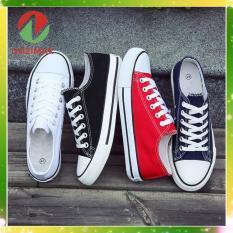 Giày thể thao nam nữ Dozimax CV01 chất liệu vải, êm và dễ làm sạch, đế cao su tổng hợp nên dẻo và rất êm chân