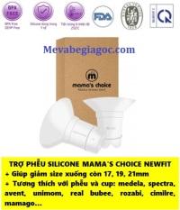 1 Trợ Phễu Silicone Mama's Choice NewFit – Tương thích với Medela, Spectra, Avent, Unimom, Real Bubee, Rozabi, Cimilre