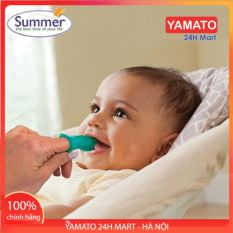 Bàn Chải Ngón Summer Infant dùng để đánh răng rơ lưỡi, Rơ Lưỡi Cho Bé, Rơ Lưỡi Silicon