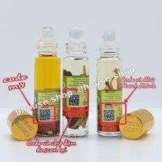 Lốc 12 Dầu Nhân Sâm Ginseng Green Herb Oil Thái Lan – 8ml x12 chai