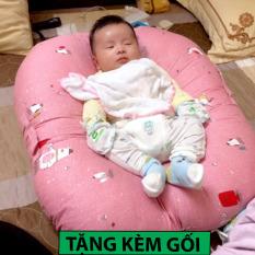 Gối chống trào ngược cho bé-Tặng kèm gối lõm cho bé