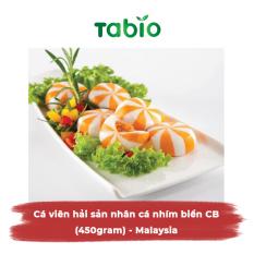 HCM – Cá viên hải sản nhân cá nhím biển CB (450gram) – Malaysia – TABIO