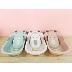 Chậu tắm cho bé – Thau tắm hình con ếch cho em bé , trẻ sơ sinh – bồn tắm cho bé