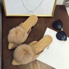 Dép sục lông êm chân gót 2p dễ thương