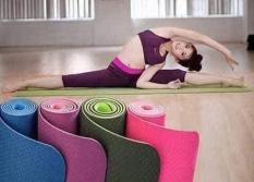 Thảm tập yoga 2 lớp cao cấp