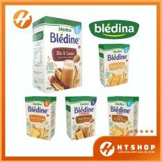 Bột Pha Sữa – Bột Lắc Sữa Bledina Nội Địa Pháp Cho Bé Từ 6 Tháng Tuổi Hộp 400 Gram