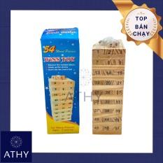 BỘ TRÒ CHƠI RÚT GỖ 2 LOẠI HỘP LỚN HOẶC NHỎ rút thanh gỗ tháp xếp đồ chơi trẻ em đồ chơi quán café game toy trí tuệ good wood choice party game toy cho quàn cafe trà sữa rèn luyện tính cẩn thận và khéo léo ATHY SHOP