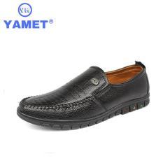 Giày Lười Nam Thời Trang YAMET YM8128B – Màu Đen