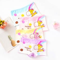 Quần chip đùi cotton cao cấp cho bé gái 2-12 tuổi hình hươu cao cổ đủ màu sắc tươi vui BBShine – C017