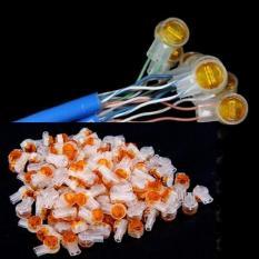 Hạt rệp nối dây điện thoại hoặc dây mạng lan ( túi 100 hạt)
