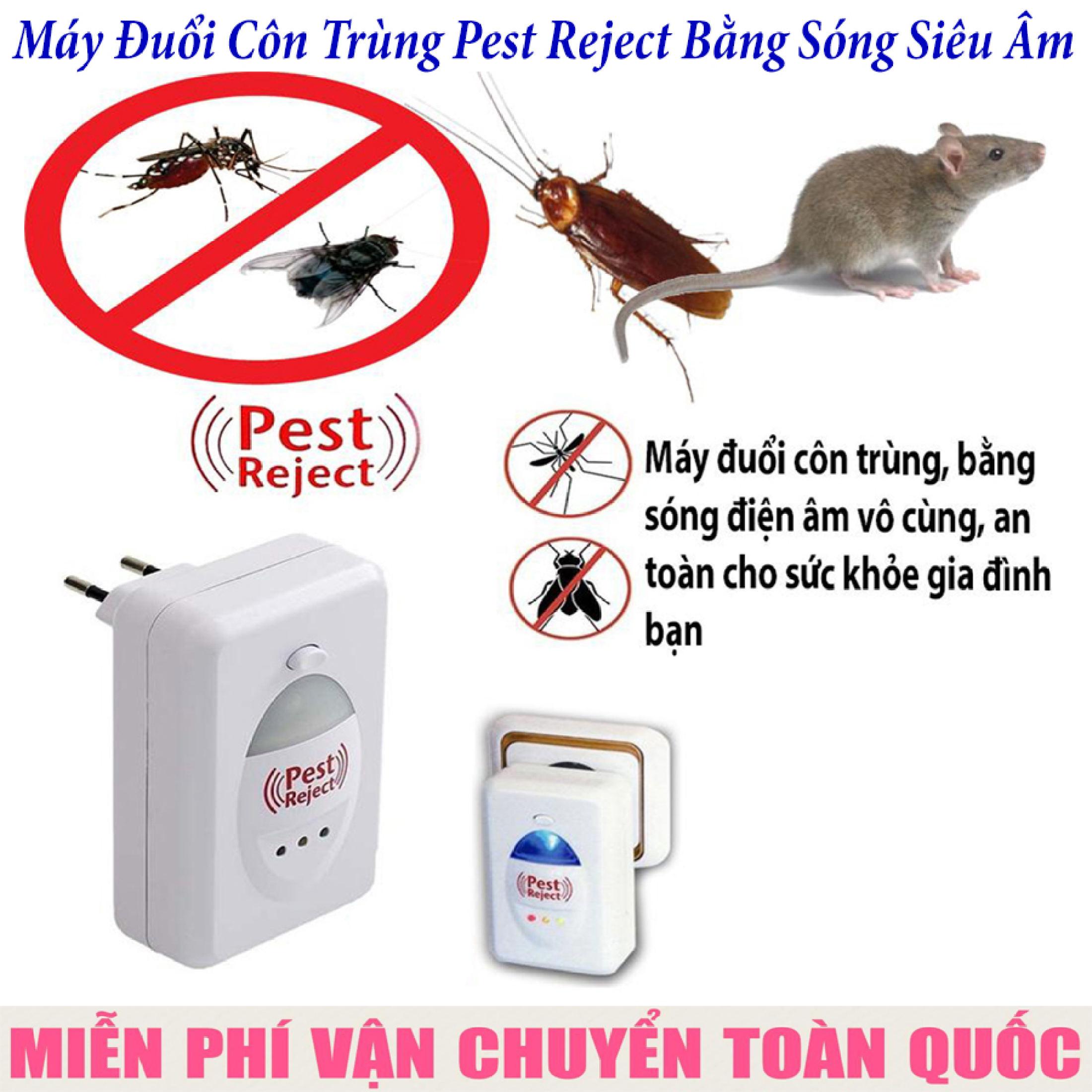 Máy Xua Đuổi Chuột, Đuổi Côn Trùng Thành Công 100% Pm315, Đuổi Tất Cả Các Con Dơ Bẩn Và Gây...