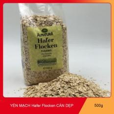 Yến Mạch Hafer Flocken Bio Alnatura Đức Nguyên Hạt 500gam