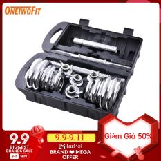 tạ tập tay barbell Barbell Dumbbell Weight 20kg +30cm Barbell bar Bộ đĩa tạ tập gym 20kg OT010