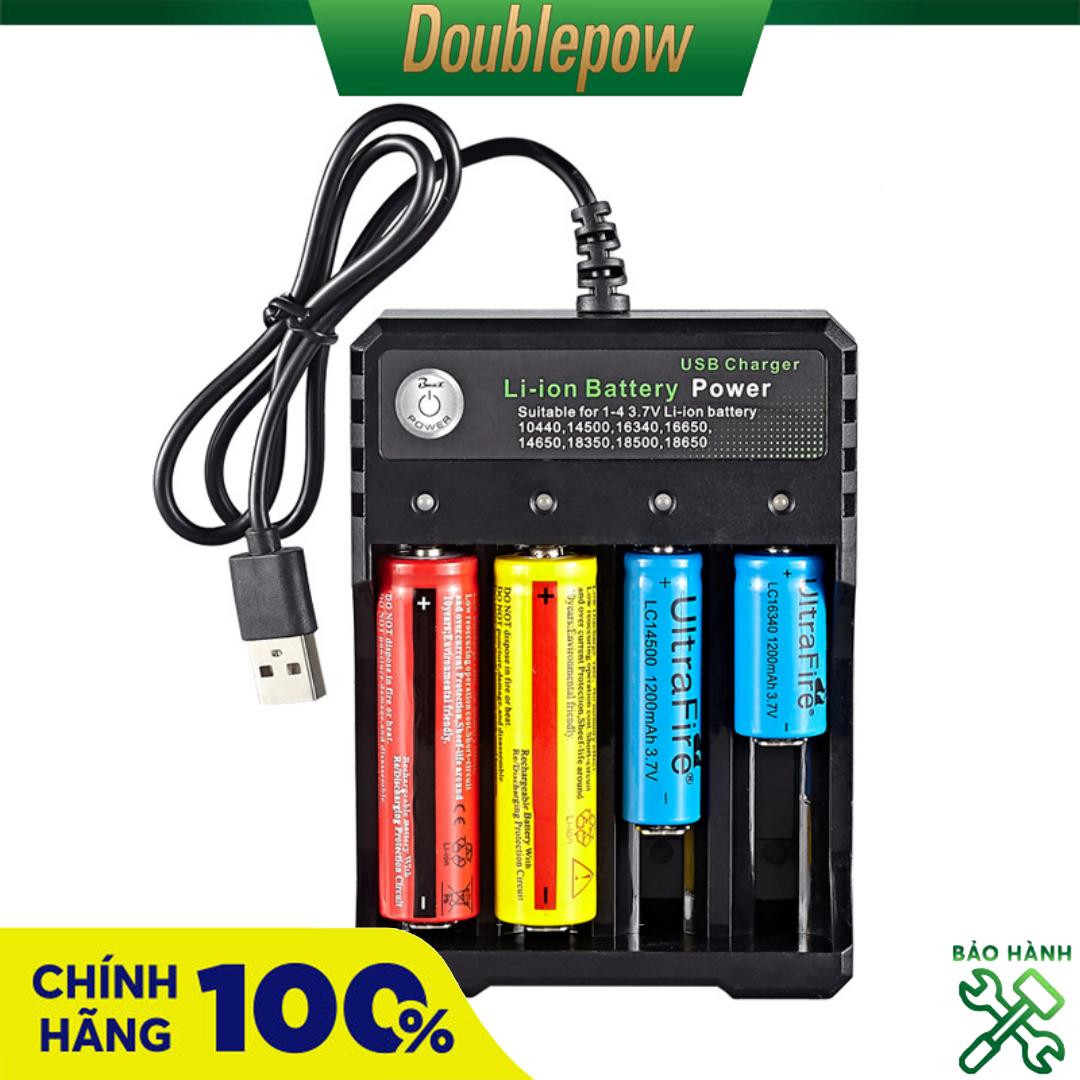 Sạc pin 18650 thông minh tự ngắt báo đèn khi pin đầy BH-042100-04U