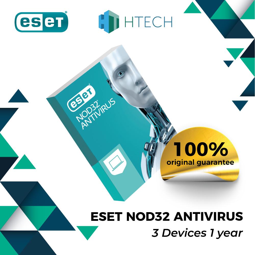 Phần mềm diệt virus ESET NOD32 Antivirus – 3 Người dùng 1 Năm – Bảo vệ mạnh mẽ, không làm chậm thiết bị – Xuất xứ từ Châu Âu