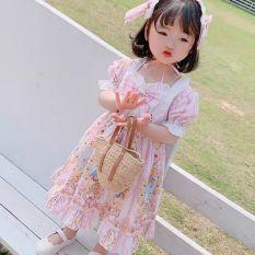 đầm lolita siêu xinh cho bé tặng kèm băng đô