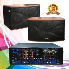 Combo dàn karaoke gia đình, Amply Bluetooth Cali.D&Y và Loa Bass 2.5 Tấc