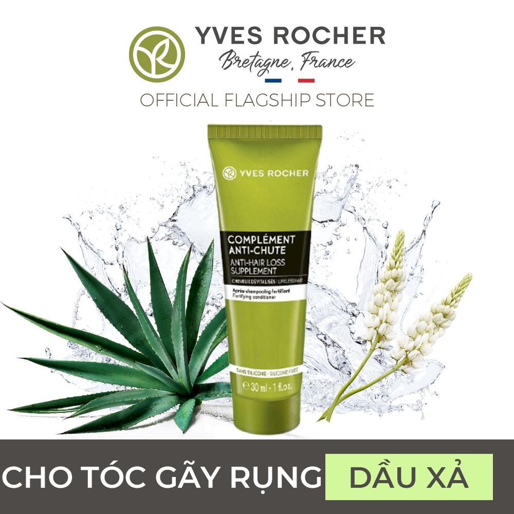 (Date: 02.2022) Dầu Xả Dành Cho Tóc Gãy Rụng Mini Yves Rocher Lifeless Hair Fortifying Conditioner 30ml