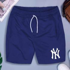 [Freeship- 4 màu] Quần thể thao NY có 02 túi kéo khoá vải thun lạnh dày đẹp – QTTNY015