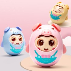 [Thu thập mã giảm thêm 30%] Lật đật chú heo đồ chơi tinh nghịch chớp mắt có chuông nhẹ nhàng cho bé yêu chất liệu nhựa an toàn không gây hại cho trẻ nhỏ