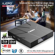 Tivi box, tv box, đầu android tivi box android 10.0 mới, bộ nhớ 16G, ram 2G, xem phim HD 4K, xem nhiều kênh truyền hình giải trí, bảo hành 12 tháng T95H