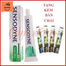 COMBO 2 Kem Đánh Răng Sensodyne Nhập Thái Lan + Tặng kèm 2 bàn chải đánh răng