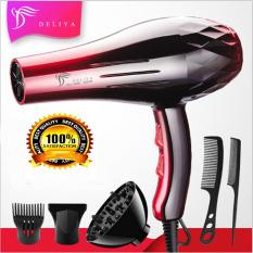 Máy sấy tóc Deliya 8080 công suất 2200W – 3 chế độ sấy nóng, vừa, mát với 2 tốc độ gió không lo tóc hư tổn [ TẶNG KÈM 5 PHỤ KIỆN & 1 PHẦN QUÀ HẤP DẪN – BẢO HÀNH 1 NĂM – 1 ĐỔI 1 TRONG 7 NGÀY ]
