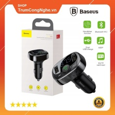 Bộ tẩu sạc đa năng trên xe hơi Baseus S09 T-Typed Wireless MP3 Car Charger Bluetooth