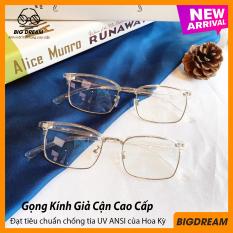 [HCM]Kính cận gọng dẻo cao cấp BD905001 – Gọng kính giả cận Hàn Quốc – Bảo hành 12 tháng 1 đổi 1