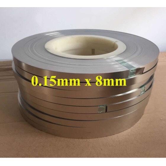 1m kẽm hàn cell pin khổ 0.15mm*8mm