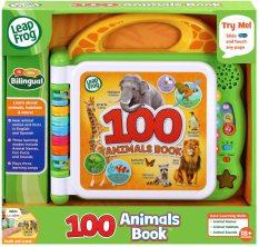 Đồ chơi quyển sách LeapFrog Learning Friends giới thiệu 100 từ tiếng Anh về động vật cho bé