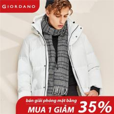 Giordano Unisex Scarves Stylish Casual Contrast Plaid Scarves Smooth Fashion Tassel British Style Scarves Free Shipping 01280604