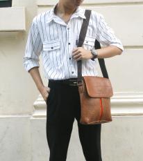 Túi đeo chéo nam thời trang chất liệu cao cấp thiết kế tiện dụng dễ dàng phối hợp với các loại trang phục – Bảo hành 12 tháng