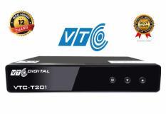 Đầu thu kỹ thuật số DVB T2 VTC T201 + Antena 15m dây
