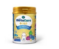 Sữa bột Metacare GOLD 2+ – Tiêu hoá khoẻ, tăng hấp thu (900g)