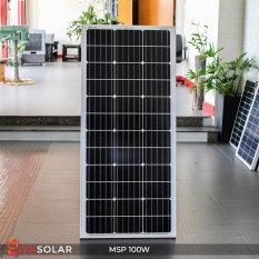 Tấm pin năng lượng mặt trời GIVASOLAR Mono MSP-100W (Tặng Jack MC4) – Hàng chính hãng GIVASOLAR